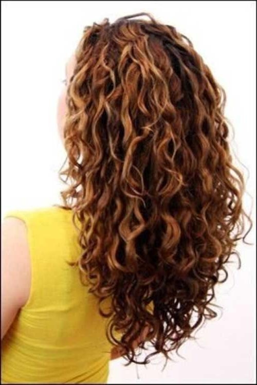 Most Popular Long Hairstyles With Layers And Curls Throughout Best 25+ Layered Curly Hair Ideas On Pinterest | Long Layered (View 4 of 20)