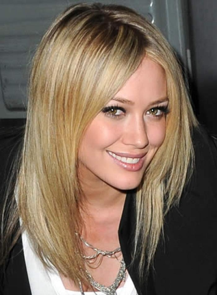 Most Popular Medium Long Haircuts For Thin Hair With Regard To Medium Lenghth Hairstyles Woman Medium Length Hairstyles For Fine (View 4 of 15)