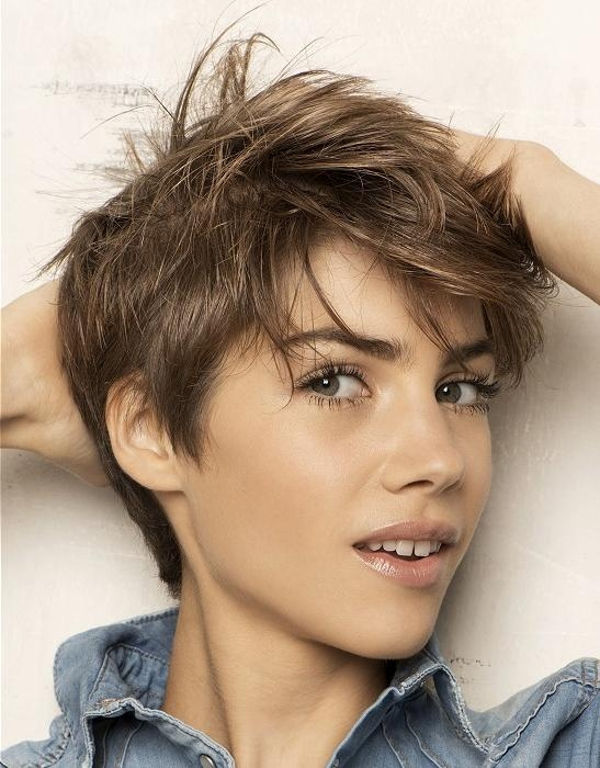 Most Popular Messy Hairstyles With Regard To Messy Short Haircuts For Women (View 14 of 20)