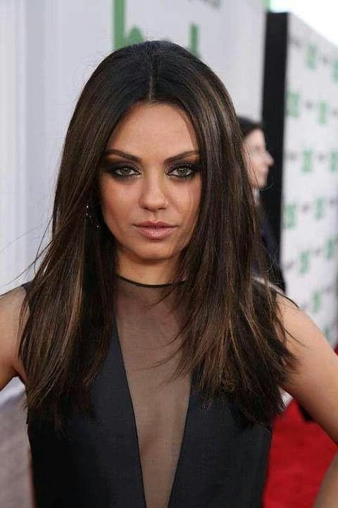 Most Popular Mila Kunis Long Hairstyles Inside Best 25+ Mila Kunis Hair Ideas On Pinterest | Mila Kunis Hair (View 6 of 15)