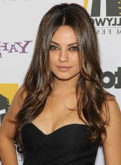 Most Popular Mila Kunis Long Hairstyles With Mila Kunis – Beauty Riot (View 7 of 15)