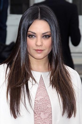 Most Popular Mila Kunis Long Hairstyles Within Hairstyles: Mila Kunis – Long Straight Hairstyle | Sophisticated (View 8 of 15)