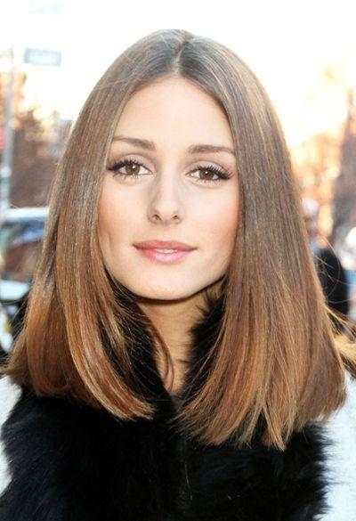 Most Popular One Length Long Haircuts Within Best 25+ One Length Hair Ideas On Pinterest | Wavy Shoulder Length (View 6 of 15)