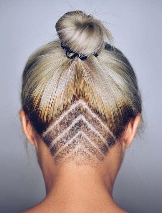 Most Popular Undercut Long Hairstyles For Women With Regard To Best 25+ Undercut Long Hair Ideas On Pinterest | Long Hair With (View 13 of 20)