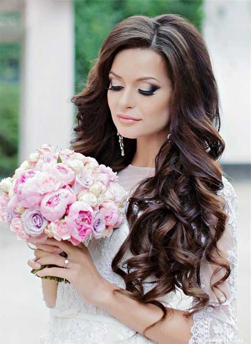 Most Popular Wedding Long Hairstyles Inside Long Hairstyles And Get Inspiration To Remodel Your Hair Of Your (View 11 of 20)
