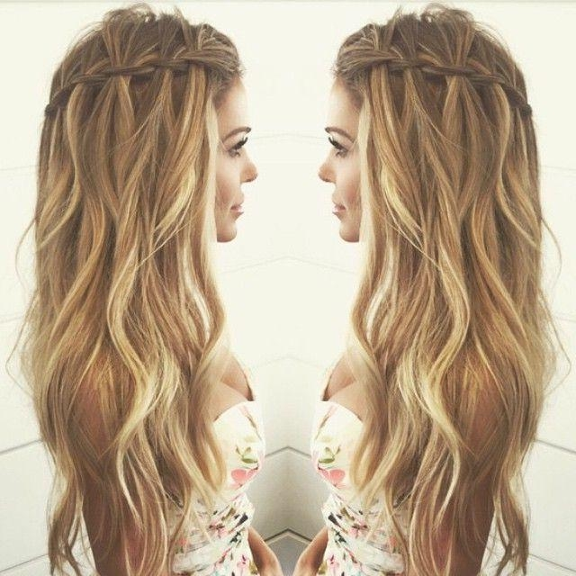 Most Recent Boho Long Hairstyles With Regard To Best 25+ Boho Waves Ideas On Pinterest | Tumblr Picture Ideas (View 11 of 20)