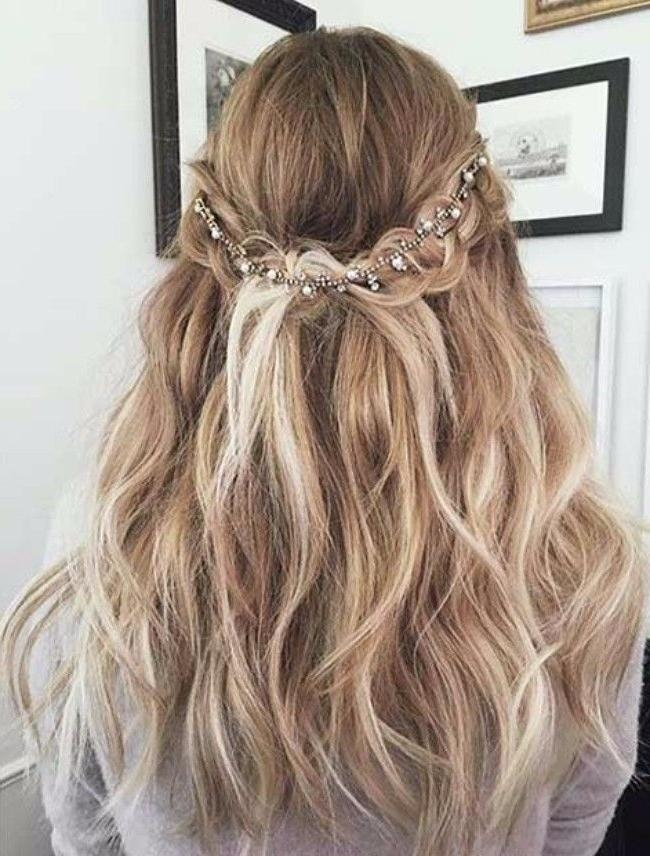 Most Recent Cute Long Hairstyles For Prom In Best 25+ Cute Prom Hairstyles Ideas On Pinterest | Cute Hairstyles (View 10 of 20)