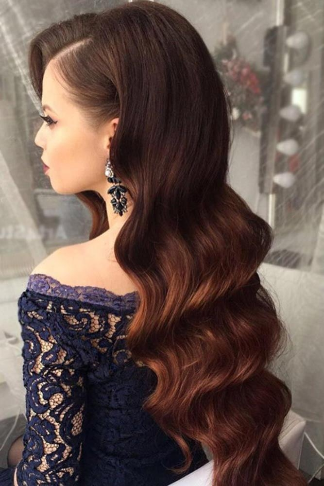 Most Recent Down Long Hairstyles Throughout Best 25+ Elegant Hairstyles Ideas On Pinterest | Hair Styles (View 17 of 20)