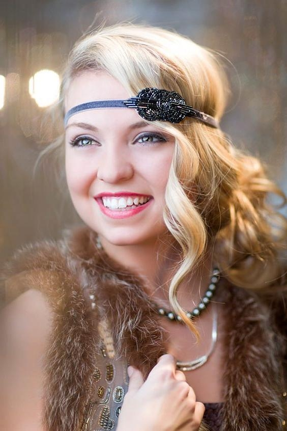 20 Photo Of Flapper Girl Long Hairstyles