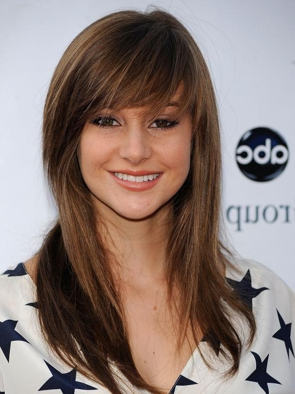 Most Recent Long Bangs Hairstyles Long Hair Inside Style For Long Hair With Bangs (View 14 of 20)