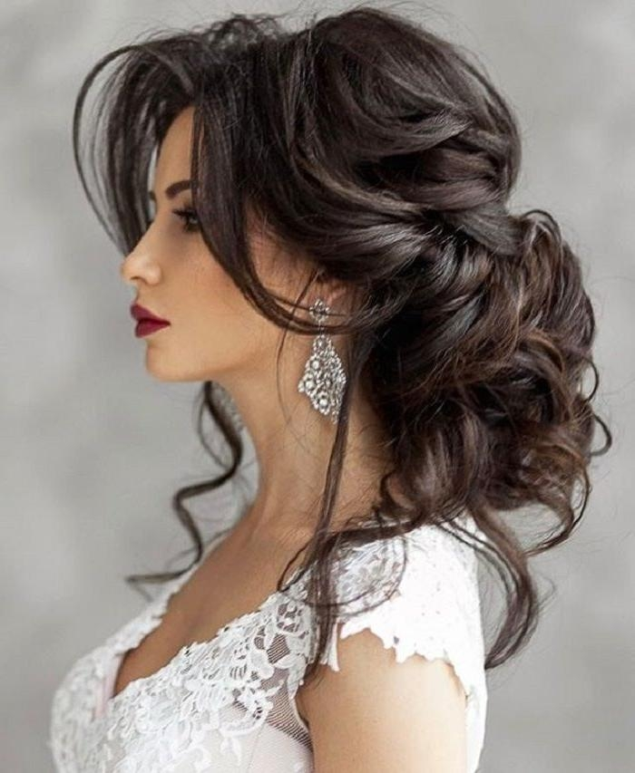 20 ideas of long hairstyle for wedding. Black Bedroom Furniture Sets. Home Design Ideas