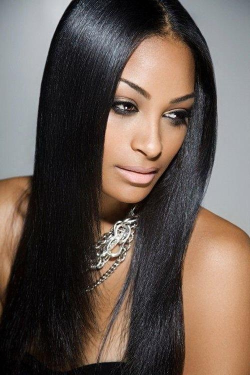 Most Recent Long Hairstyles For Black Hair For Long Hairstyles To Inspire You How To Remodel Your Hair  (View 14 of 20)