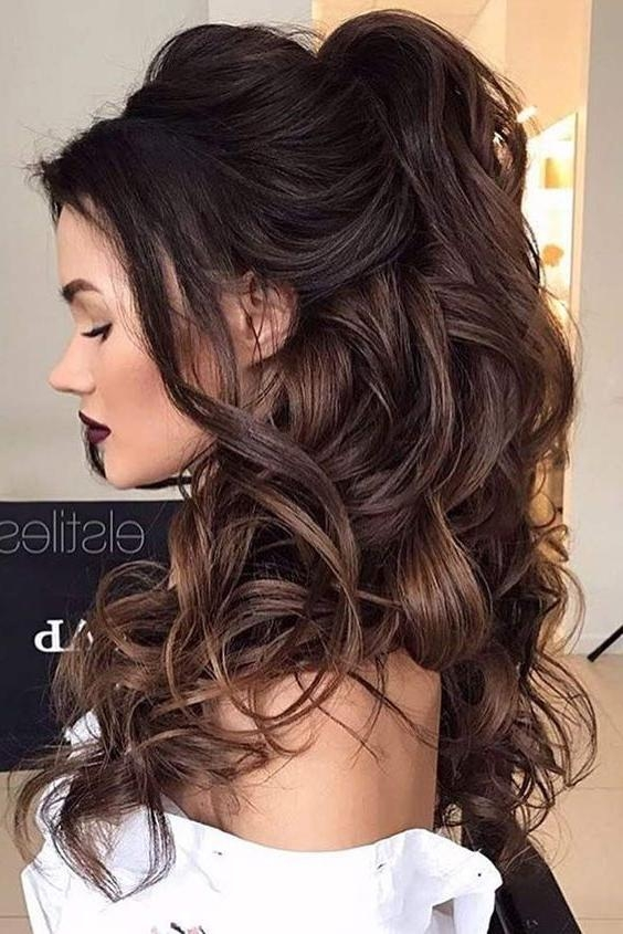 Most Recent Long Hairstyles For Bridesmaids With Best 25+ Bridesmaid Long Hair Ideas On Pinterest | Long Hair Updo (View 18 of 20)