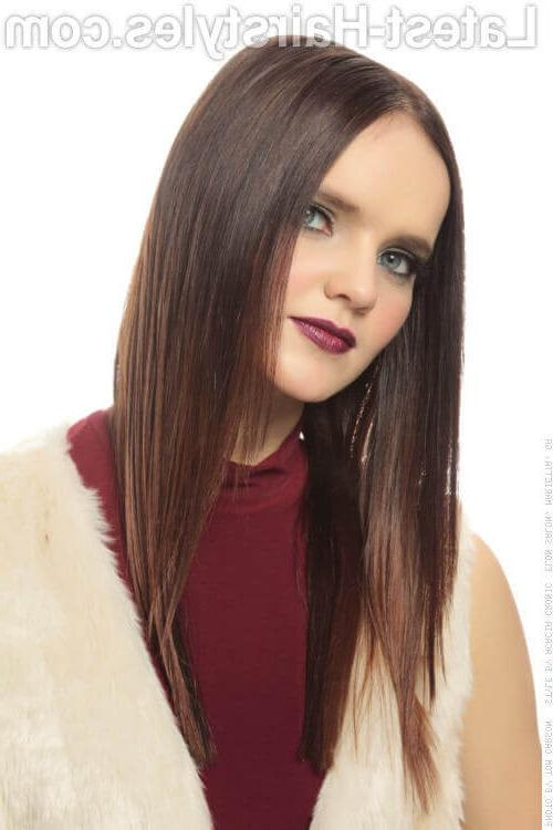 Most Recent Long Hairstyles For Thin Straight Hair For 22 Best Medium Length Hairstyles For Thin & Fine Hair (2018 Ideas) (View 15 of 20)