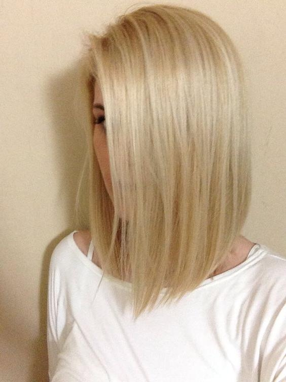Most Recent Medium To Long Haircuts For Thin Hair Inside Medium Length Bob Hairstyles For Fine Hair | Medium Hairstyles (View 15 of 15)