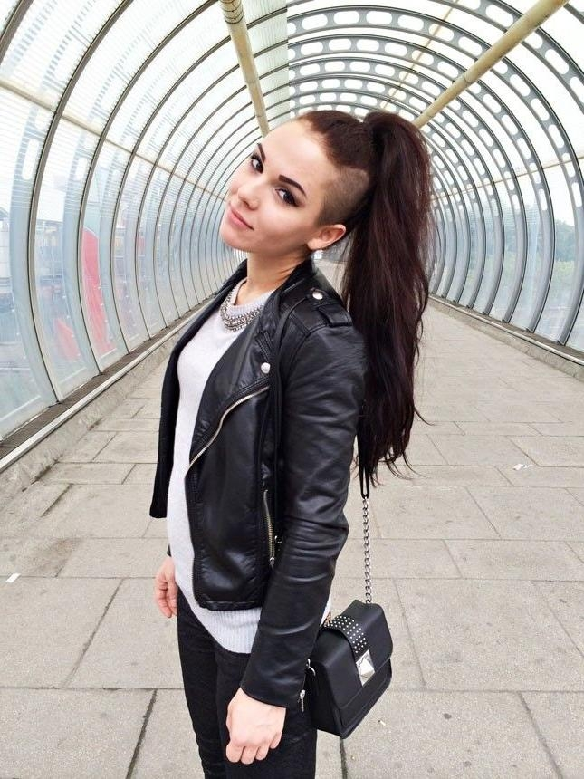 Most Recent Side Shaved Long Hairstyles Regarding 25+ Unique Long Shaved Hairstyles Ideas On Pinterest | Half Shaved (View 3 of 20)