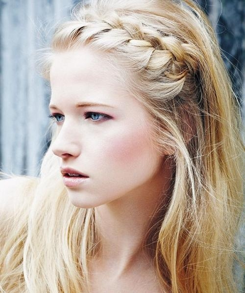 Most Recent Summer Long Hairstyles Pertaining To Simple Summer Braided Hairstyles For Long Hair Photos – New (View 12 of 20)
