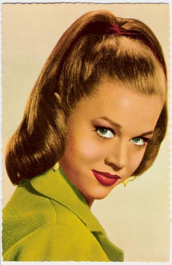 Photo Gallery Of 1950s Long Hairstyles Viewing 13 Of 20 Photos
