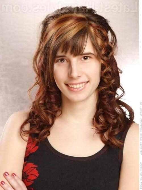 Most Recently Released Bang Long Hairstyles Within 44 Best Long Hair With Bangs For Women In  (View 13 of 20)