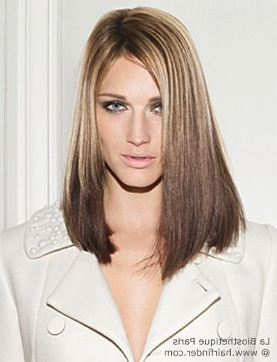 Most Recently Released Blunt Cut Long Hairstyles Throughout Long Hair With A Blunt Cut On The Ends And Undercut To Curve (View 14 of 20)