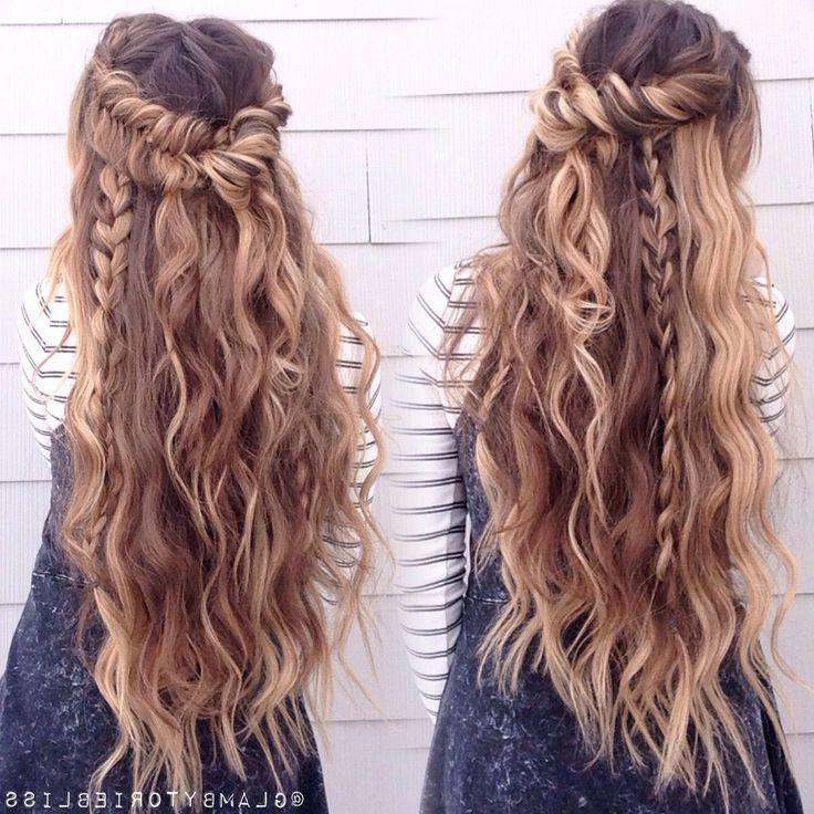Most Recently Released Boho Long Hairstyles In 8 Best Saç Baş Images On Pinterest | Hair, Beautiful And Happy (View 12 of 20)