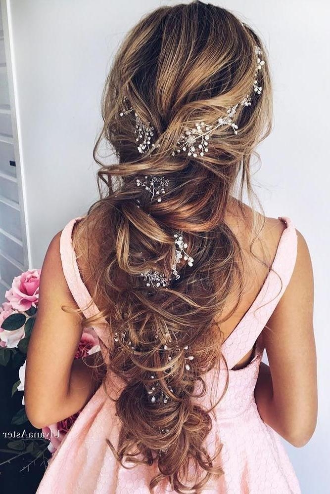 Most Recently Released Brides Long Hairstyles Inside Best 25+ Wedding Hairstyles Long Hair Ideas On Pinterest | Prom (View 17 of 20)