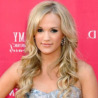 Most Recently Released Carrie Underwood Long Hairstyles With Regard To How To Create Carrie Underwood Hairstyles ~ Celebrity Hairstyles (View 14 of 15)
