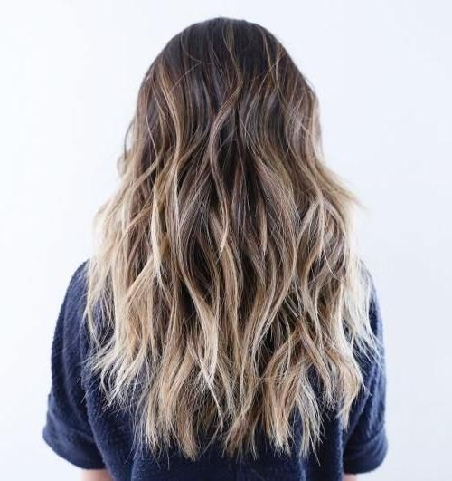 Most Recently Released Choppy Layered Long Hairstyles Intended For The 25+ Best Long Choppy Haircuts Ideas On Pinterest | Long Choppy (View 16 of 20)