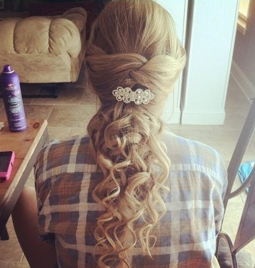 Most Recently Released Cute Long Hairstyles For Prom Inside Prom Hairstyles For Long Hair (View 2 of 20)