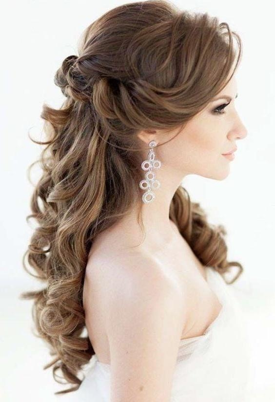 Most Recently Released Elegant Long Hairstyles For Weddings Intended For 22 Best Long Wedding Hairstyles Images On Pinterest | Hairstyles (View 6 of 20)