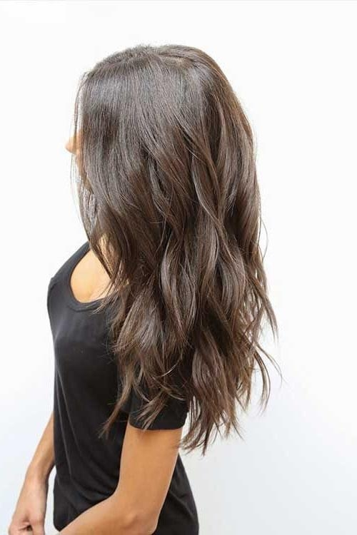 Most Recently Released Heavy Layered Long Hairstyles Intended For 25+ Unique Long Choppy Layers Ideas On Pinterest | Long Choppy (View 15 of 20)