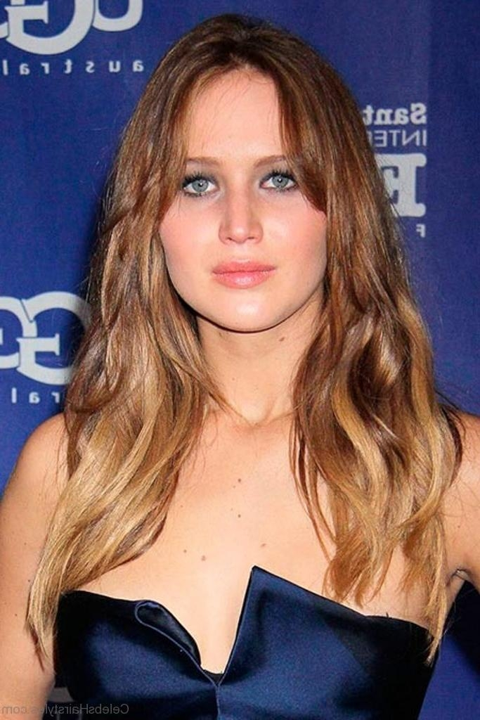 Most Recently Released Jennifer Lawrence Long Hairstyles Inside 60 Jennifer Lawrence Best Hairstyles (View 17 of 20)