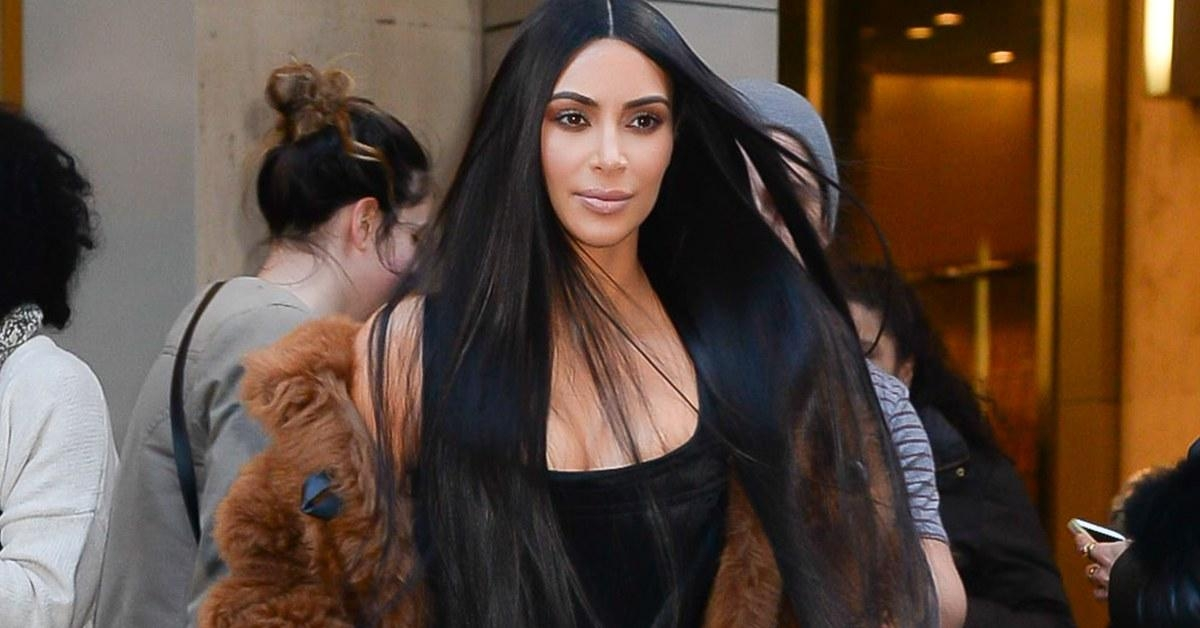 Most Recently Released Kim Kardashian Long Hairstyles For Kim Kardashian Just Chopped Her Hair For The Second Time In (View 13 of 20)