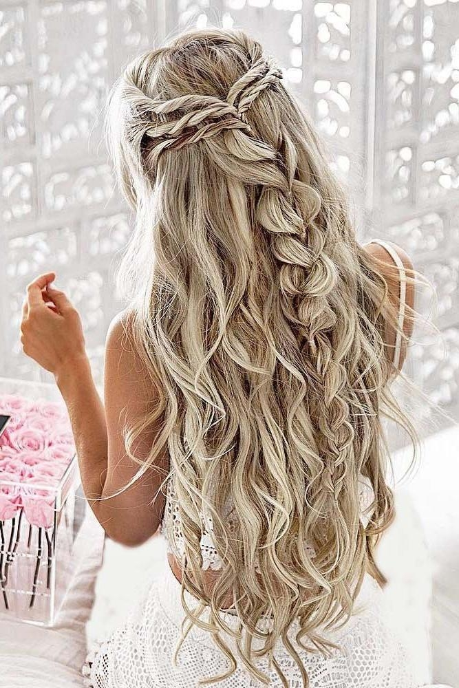 Most Recently Released Long Ball Hairstyles Within Best 25+ Long Prom Hair Ideas On Pinterest | Prom Hairstyles For (View 15 of 20)