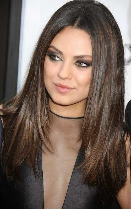 Most Recently Released Long Haircuts For Fine Straight Hair Pertaining To 20 Haircuts For Fine Straight Hair | Hairstyles & Haircuts 2016 – (View 13 of 15)