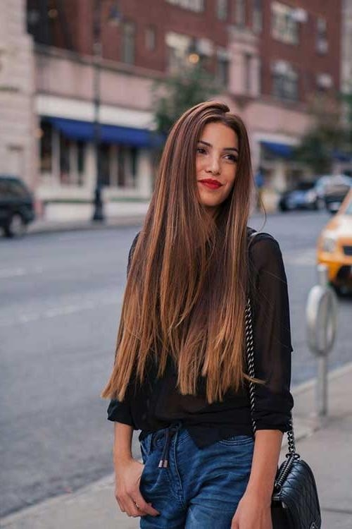 Most Recently Released Long Haircuts For Straight Hair Regarding 20 Haircuts For Fine Straight Hair | Hairstyles & Haircuts 2016 –  (View 11 of 15)