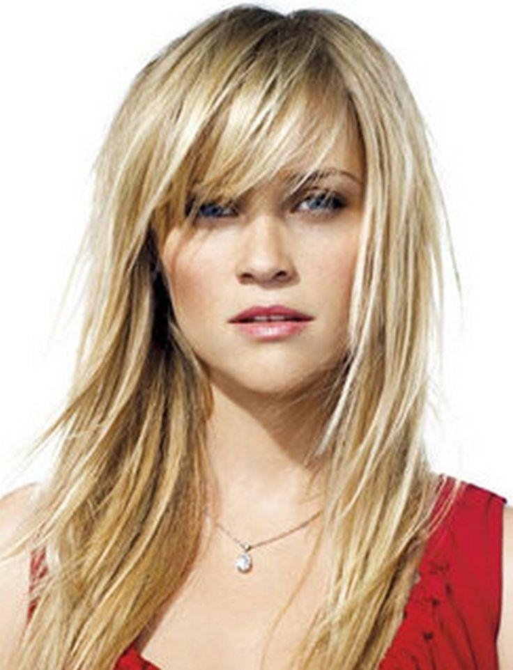 Most Recently Released Long Haircuts With Fringes For 25+ Beautiful Long Hairstyles With Bangs Ideas On Pinterest | Hair (View 6 of 15)