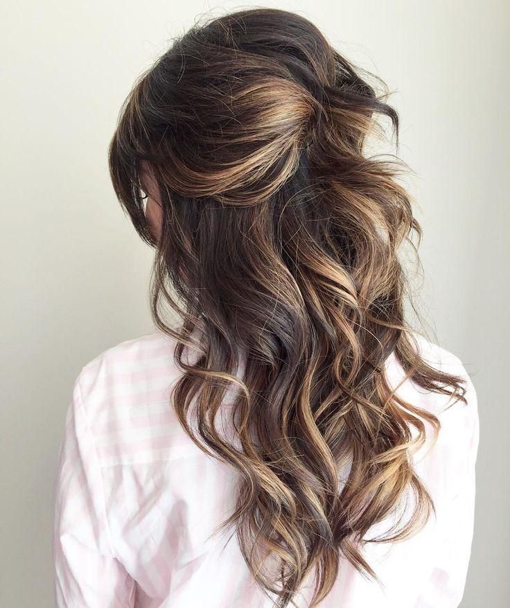 Most Recently Released Long Hairstyles For Bridesmaids Intended For 25+ Trending Bridesmaid Hair Curly Ideas On Pinterest | Updo Curly (View 9 of 20)