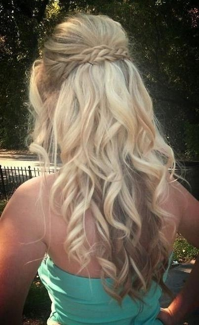 Most Recently Released Long Hairstyles For Dances Within 8 Fantastic New Dance Hairstyles: Long Hair Styles For Prom (View 5 of 20)