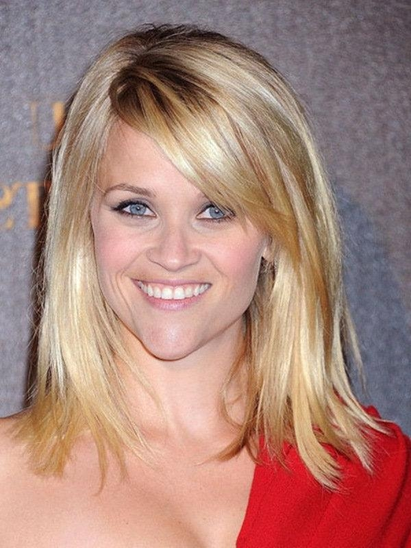 Most Recently Released Medium Long Haircuts For Thin Hair Regarding Medium Length Hairstyles For Thin Hair Photos (View 2 of 15)