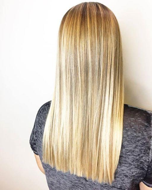 Most Recently Released One Length Long Haircuts Inside 25+ Unique One Length Haircuts Ideas On Pinterest | One Length (View 3 of 15)