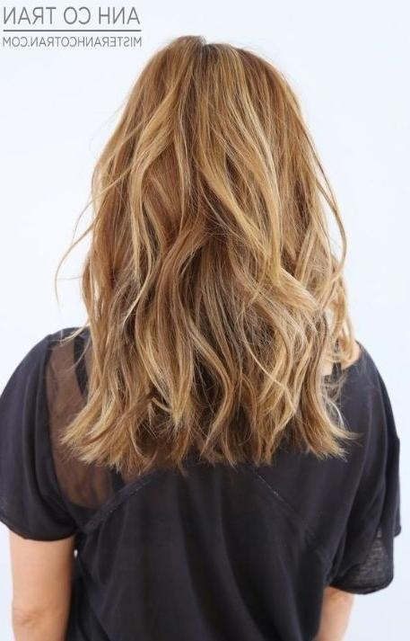 Most Recently Released One Length Long Haircuts Inside Mid One Length Hair Cut | Hairstyles | Pinterest | Peinados (View 14 of 15)