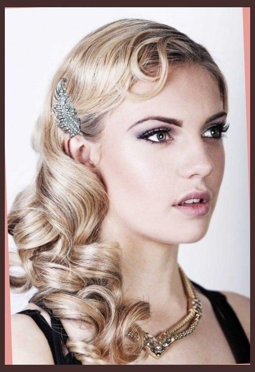Most Recently Released Twenties Long Hairstyles Intended For Best 25+ 1920S Long Hair Ideas On Pinterest | Flapper Hairstyles (View 17 of 20)