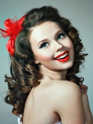Most Up To Date 50S Long Hairstyles In Cute 50S Hairstyles For Long Hair   Cute Hairstyle (View 15 of 20)