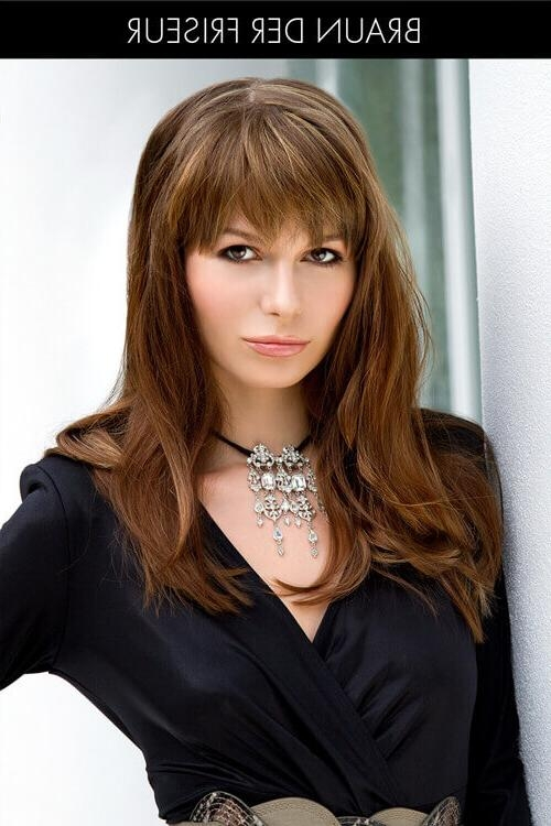 Most Up To Date Bang Long Hairstyles Inside 44 Best Long Hair With Bangs For Women In  (View 15 of 20)