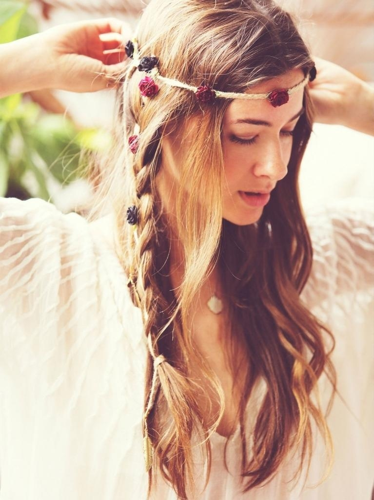 Most Up To Date Boho Long Hairstyles With Boho Hairstyle For Long Hair Messy Bohemian Hairstyles New (View 16 of 20)