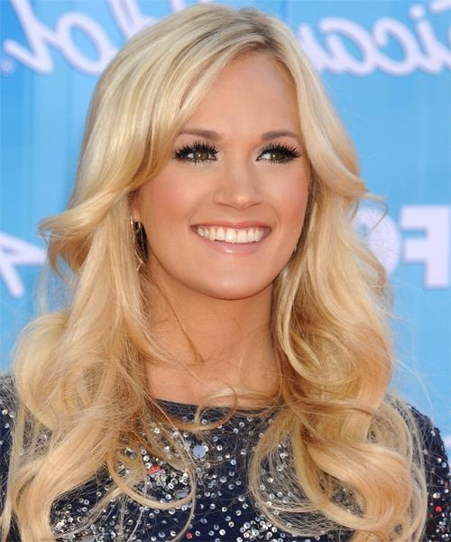 Most Up To Date Carrie Underwood Long Hairstyles In Carrie Underwood Hairstyles For 2018 | Celebrity Hairstyles (View 15 of 15)