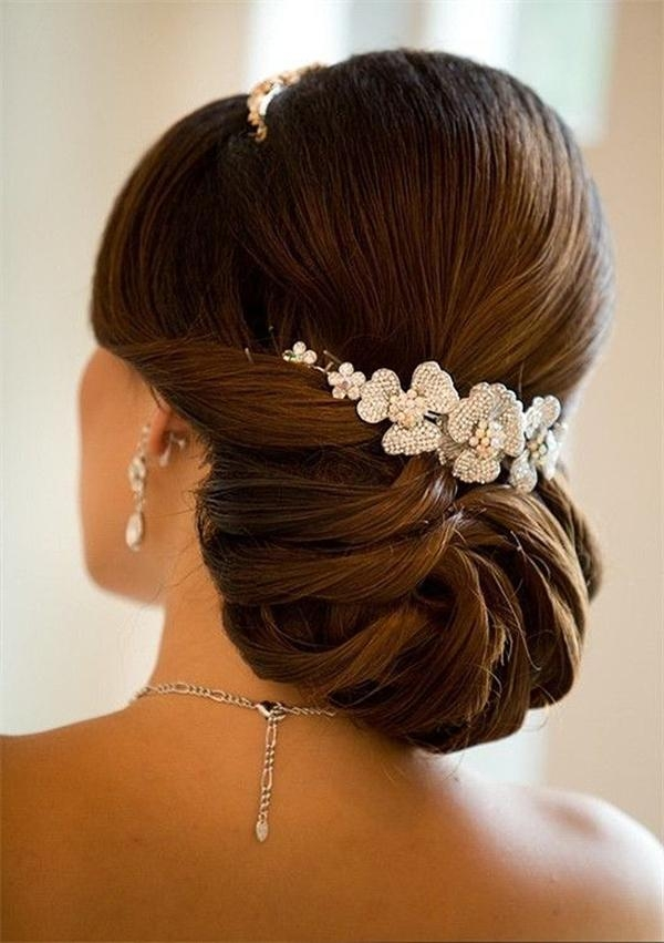 Most Up To Date Elegant Long Hairstyles For Weddings With 20 Most Elegant And Beautiful Wedding Hairstyles (View 3 of 20)