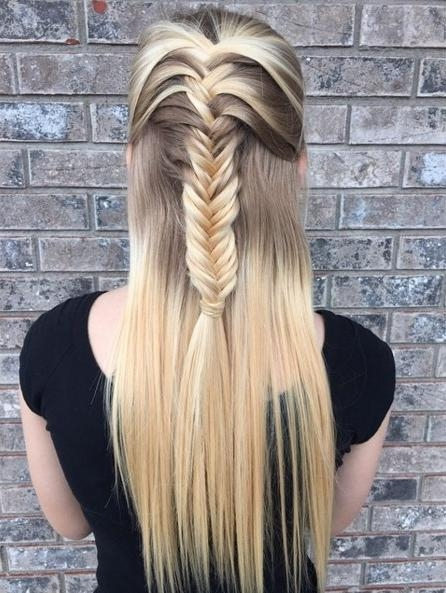 Most Up To Date Half Up Long Hairstyles With Regard To 22 New Half Up Half Down Hairstyles Trends – Popular Haircuts (View 18 of 20)