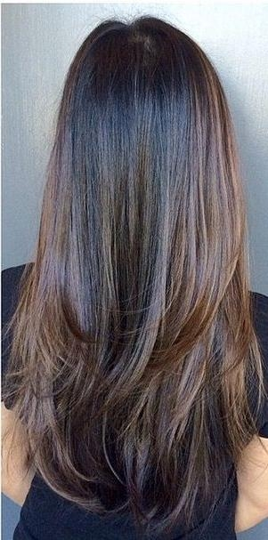 Most Up To Date Heavy Layered Long Hairstyles Pertaining To Best 25+ Long Straight Layers Ideas On Pinterest | Straight (View 15 of 20)